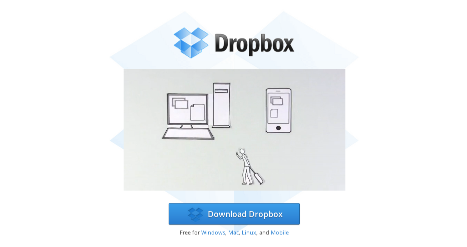 Explainer animated video of dropbox set a record for high conversion.